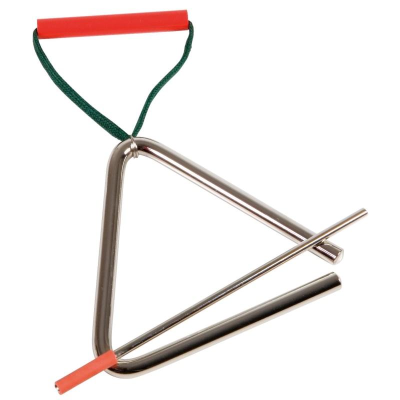 Triangel Orff   10 cm   Met klopper