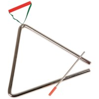 Triangel Orff | 21 cm | Met klopper