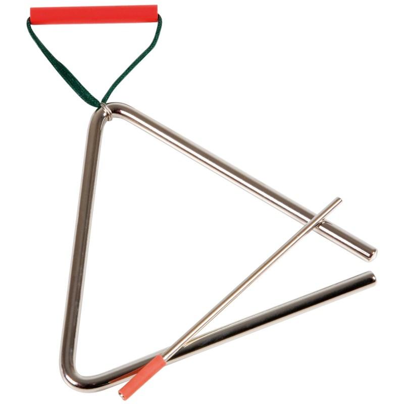 Triangel Orff   15 cm   Met klopper