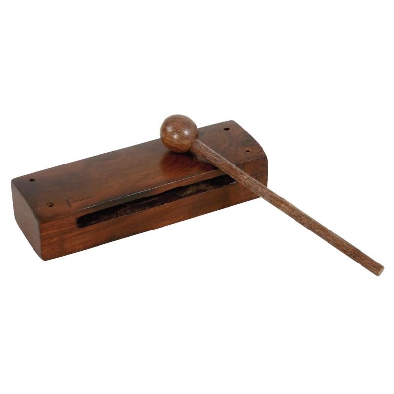 Woodbloc met klopper