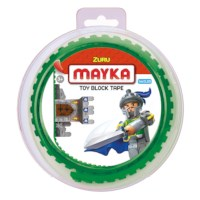 Mayka block tape | 2-nops | 1 meter | Groen