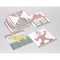 Kralenplank vierkant | Set van 12 voorbeeldkaarten