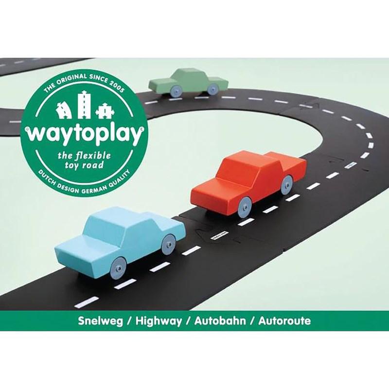 Waytoplay | Autobaan Snelweg | 24-delig