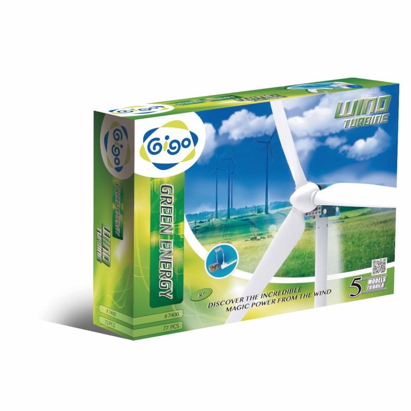 Gigo | Windturbine | 77 onderdelen
