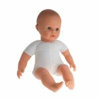 Speelgoedpop | Stoffen lijfje | Europees | 50 cm