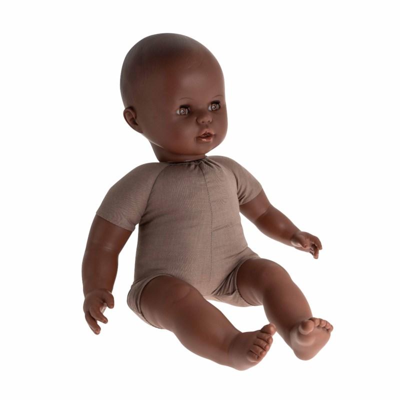 Speelgoedpop    Stoffen lijfje   Afrikaans   50 cm