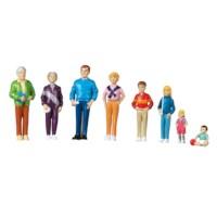 Poppenfiguurtjes | Families van de wereld | Europese familie