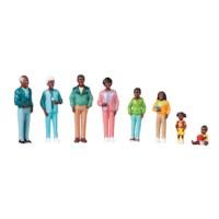 Poppenfiguurtjes | Families van de wereld | Afrikaanse familie