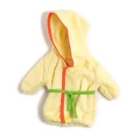 Poppenkleertjes | Voor poppen van 40 - 45 cm | Badjasje | Geel