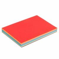 Tekenpapier | 120 grams, 180 vel | A4, 17 kleuren assorti + wit | 21 x 29,7 cm