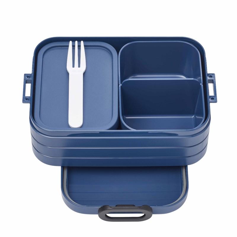 Lunchbox met vakken | Nordic denim | midi