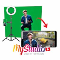 Easypix | My Studio kit | Vlogset + Greenscreen