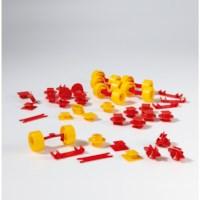 Plasticant mobilo | Verbindingselementen