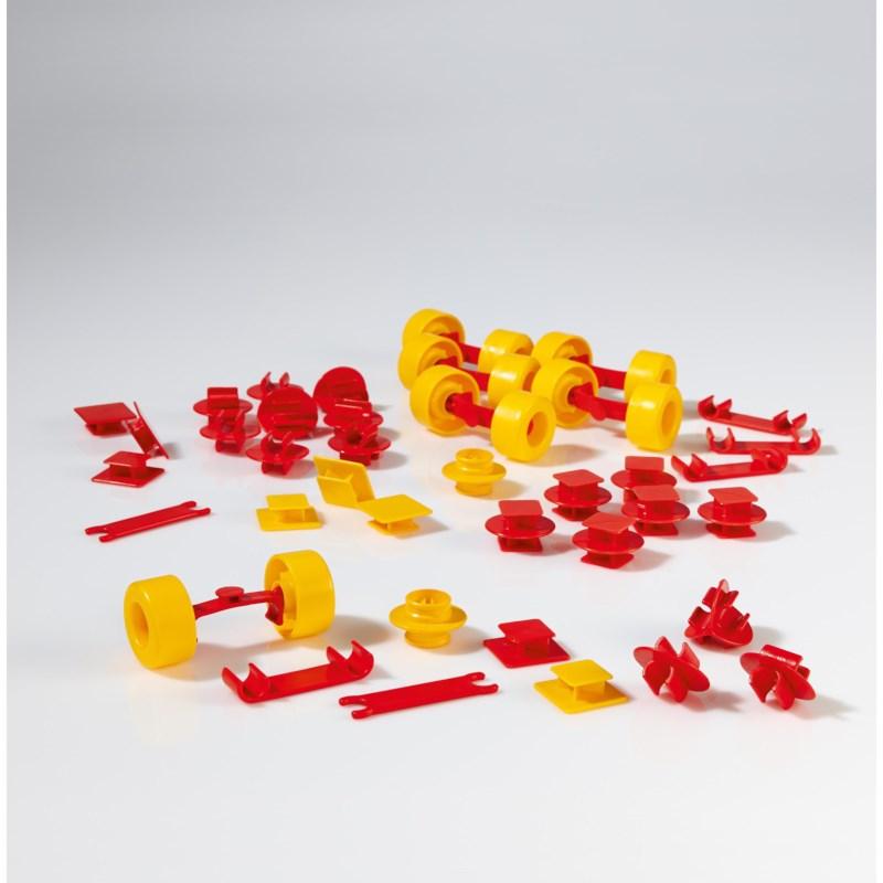 Plasticant mobilo   Verbindingselementen