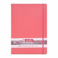 Schetsboek | Art creation | Koraal rood