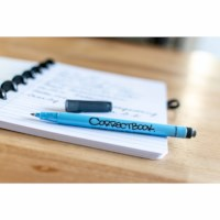 Uitwisbaar notitieboek   Correctbook   Navy Blue   A4   Gelinieerd
