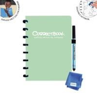 Uitwisbaar notitieboek | Correctbook | Misty mint | A5 | Gelinieerd