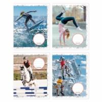 Schriften - Sport | Heutink | Liniatuur 24 lijnen | 25 stuks