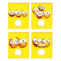 Schriften - Smiley's   Heutink   Liniatuur commerciaal 4 x 7,5 mm   25 stuks
