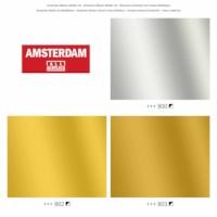 Acrylverf Amsterdam   Marker 2-4 mm   Metaalset 3 kleuren