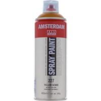 Acrylverf Amsterdam 227   Spray Paint 400 ml   Gele oker