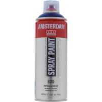 Acrylverf Amsterdam 570 | Spray Paint 400 ml | Phtaloblauw