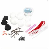 Foamclay pakket sneeuwpop   complete set
