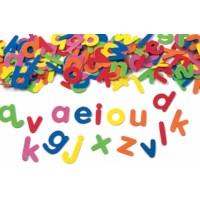 Foam | Alfabet | Zelfklevend | 5 x 3.5 cm | 380 stuks