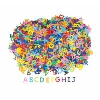Alfabet | Karton | 1.5-3 cm | 2600 stuks