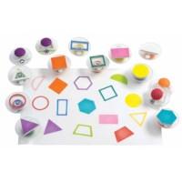 Stempels   Easy grip   Geometrische vormen   14-delig
