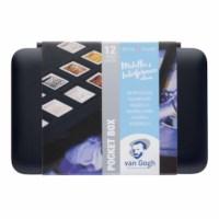 Aquarelverf pocketbox   Van Gogh   Specialty met 12 kleuren