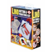 Lino snij-en stempelset | Essdee | 23-delig