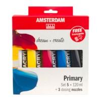 Acrylverf Amsterdam   Set à 5 tubes