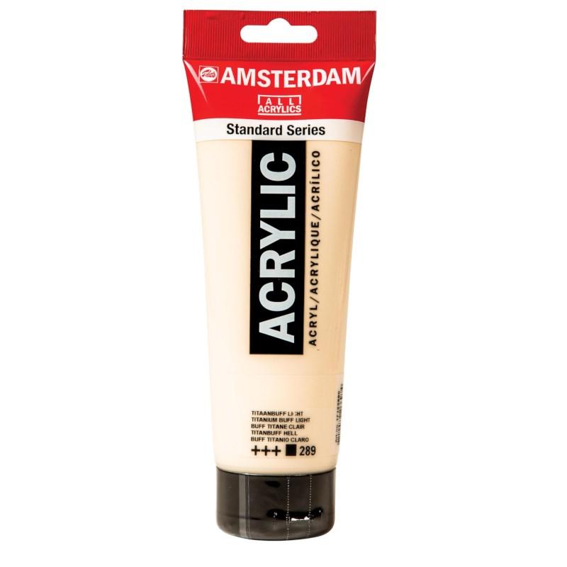 Acrylverf Amsterdam 289   Tube à 250 ml   Titaanbuffel licht