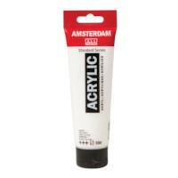 Acrylverf Amsterdam 104   Tube à 120 ml   Zinkwit