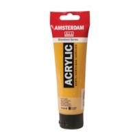 Acrylverf Amsterdam 227   Tube à 120 ml   Gele oker