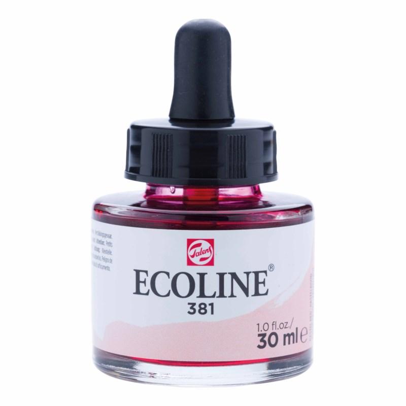 Waterverf ecoline pastelrood 30ml | Talens
