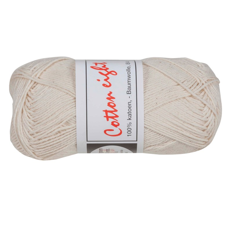 Breikatoen 8/4   Cotton eight   Ongebleekt 302   50 gram