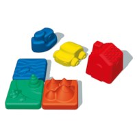 Zandvormen | 3D | 6 delig