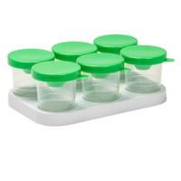 Verfpothouder | Met 6 antiknoeipotten 320 ml