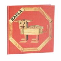 Kapla | Voorbeeldboek | Beginnende bouwers (rood)