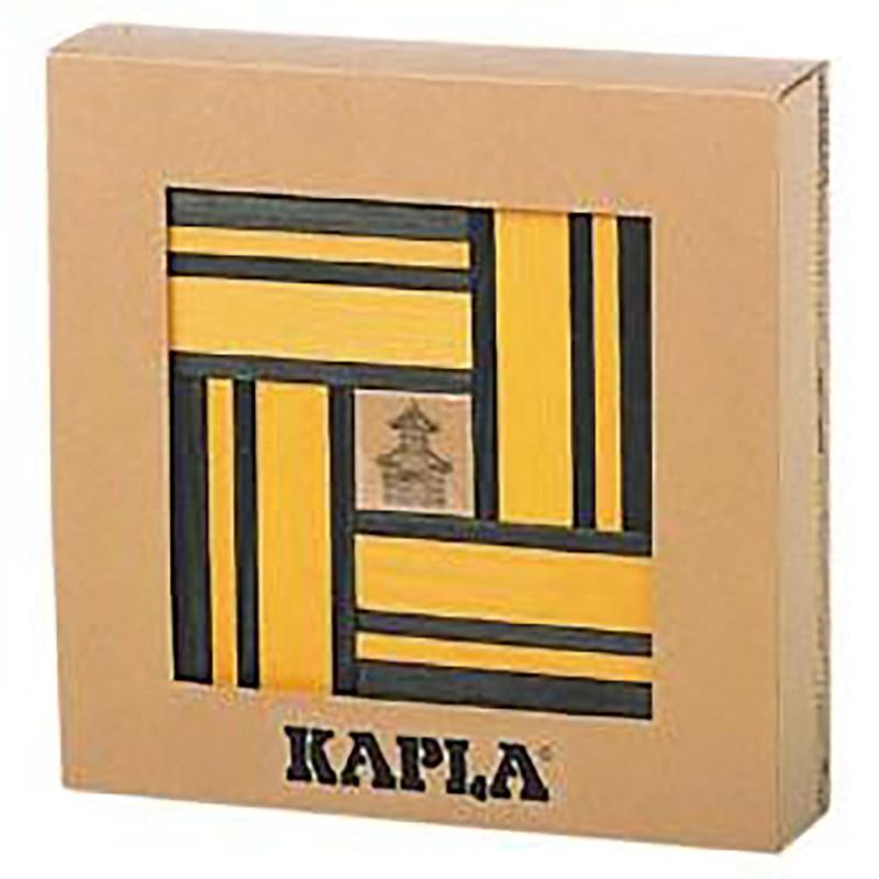 Kapla | Aanvulset geel-groen | 40 plankjes