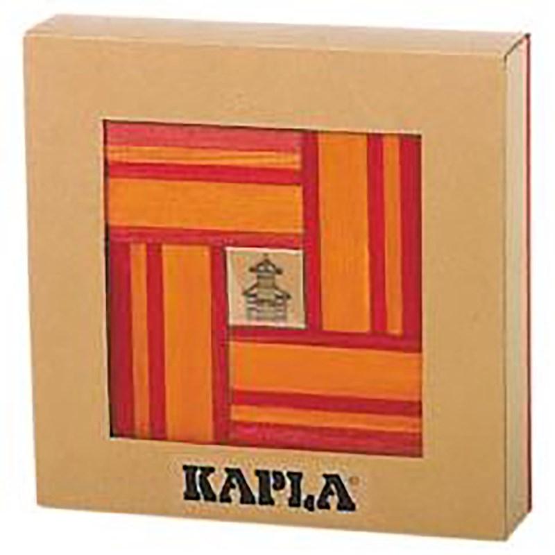 Kapla | Aanvulset rood-oranje | 40 plankjes