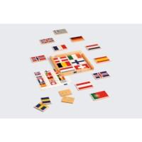 Vlaggenpuzzel Europa