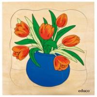Groeipuzzels serie 1 | Tulp | Educo