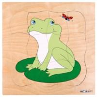 Groeipuzzel Kikker | Educo