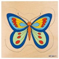 Groeipuzzel Vlinder | Educo