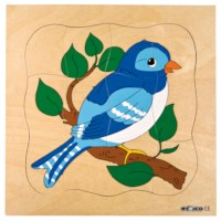 Groeipuzzel Vogel | Educo