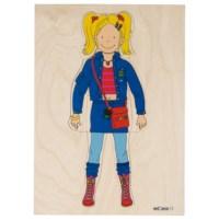 Aankleedpuzzels | Meisje | Educo