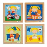 Puzzelserie Meisje | Educo
